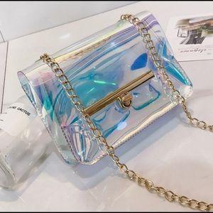 Handbags - New square transparent bag